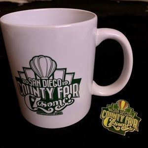 San  Diego County Fair 2019, Mug & Pin, NEW!
